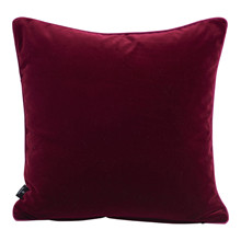 SemiBasic Velour Pude Bordeaux 45x45cm