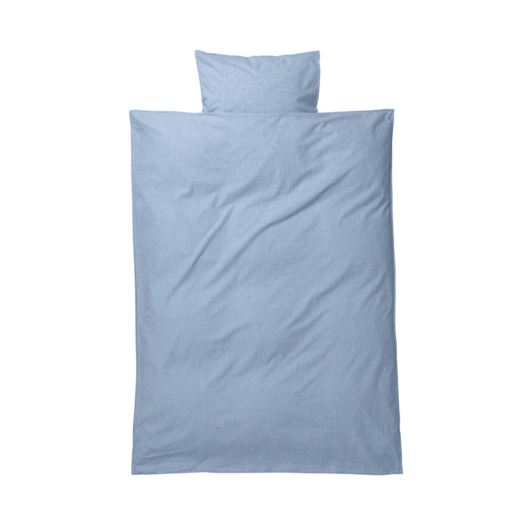 Ferm Living Sengetøj Hush Light Blue Baby