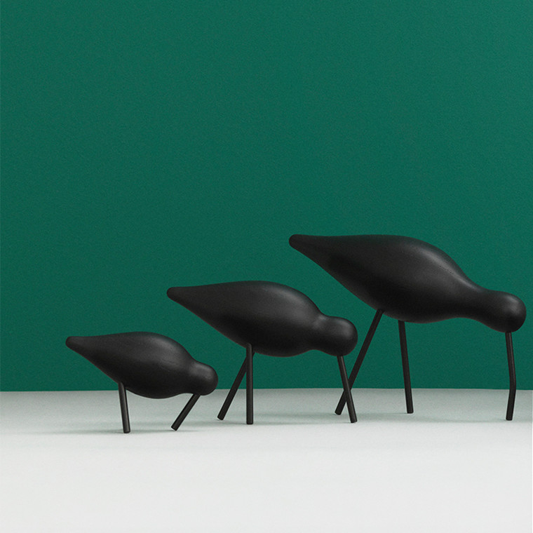 Normann Copenhagen Shorebird Sort/Sort