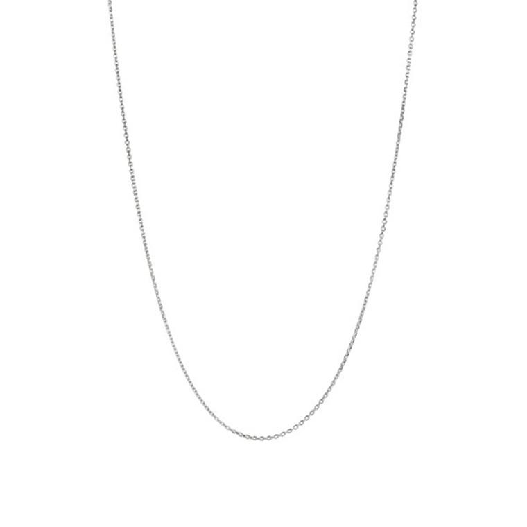 Stine A Plain Pendant Halskæde Kort Sølv