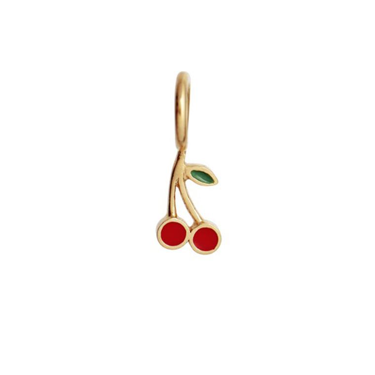 Stine A Petit Cherry Vedhæng Guld