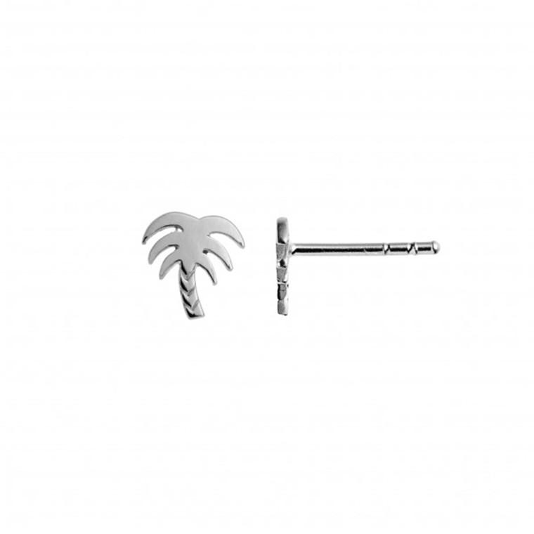 Stine A Petit Palm Ørestik Sølv