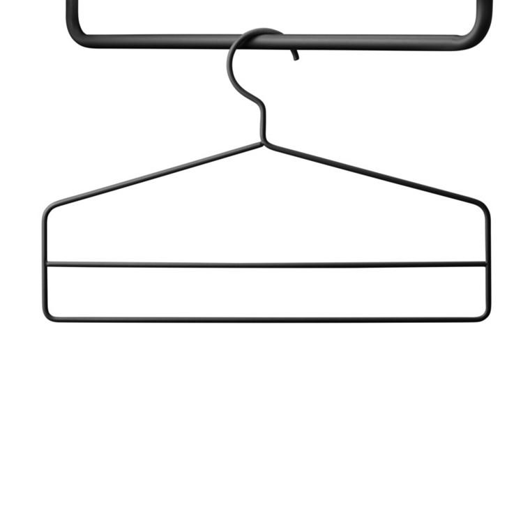 String Coat Hanger Bøjler Sort