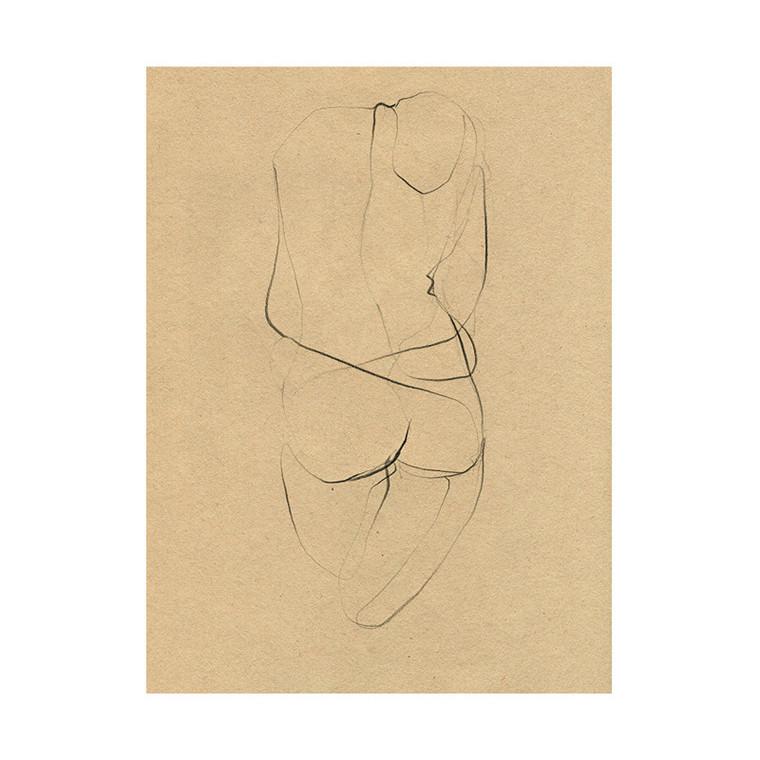 The Poster Club Ekaterina Koroleva Plakat Nude 02