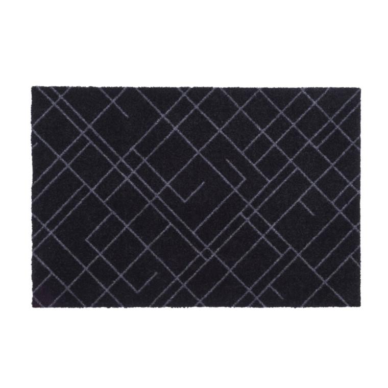 Tica Floormat Smudsmåtte Lines Design Sort/Grå