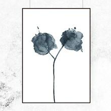 Trine Holbæk Print Flora 02 Blue