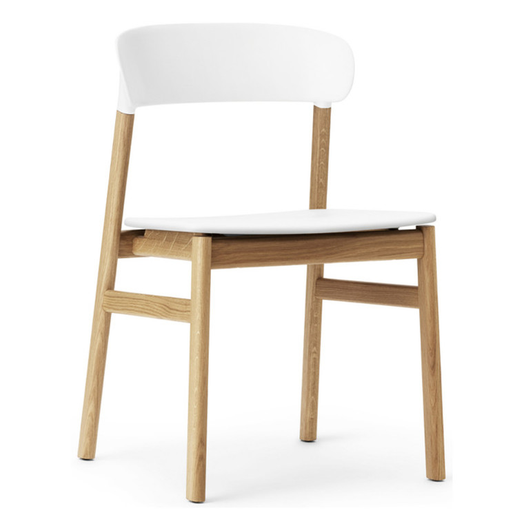 Normann Copenhagen Herit Spisebordsstol Uden Armlæn Eg