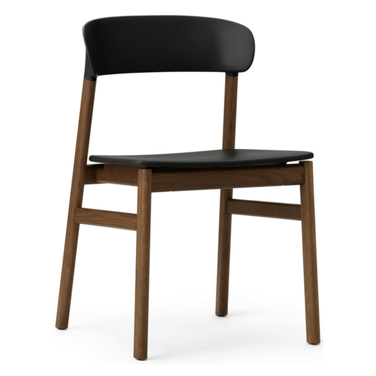 Normann Copenhagen Herit Spisebordsstol Uden Armlæn Røget Eg