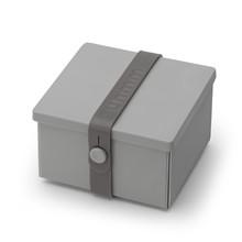 Uhmm box No. 02 Lysgrå med mørkgrå båndfarve