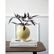 Kähler Unico Vase H170 Okkergul