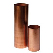 H. Skjalm P. Vase cylinder mat kobber