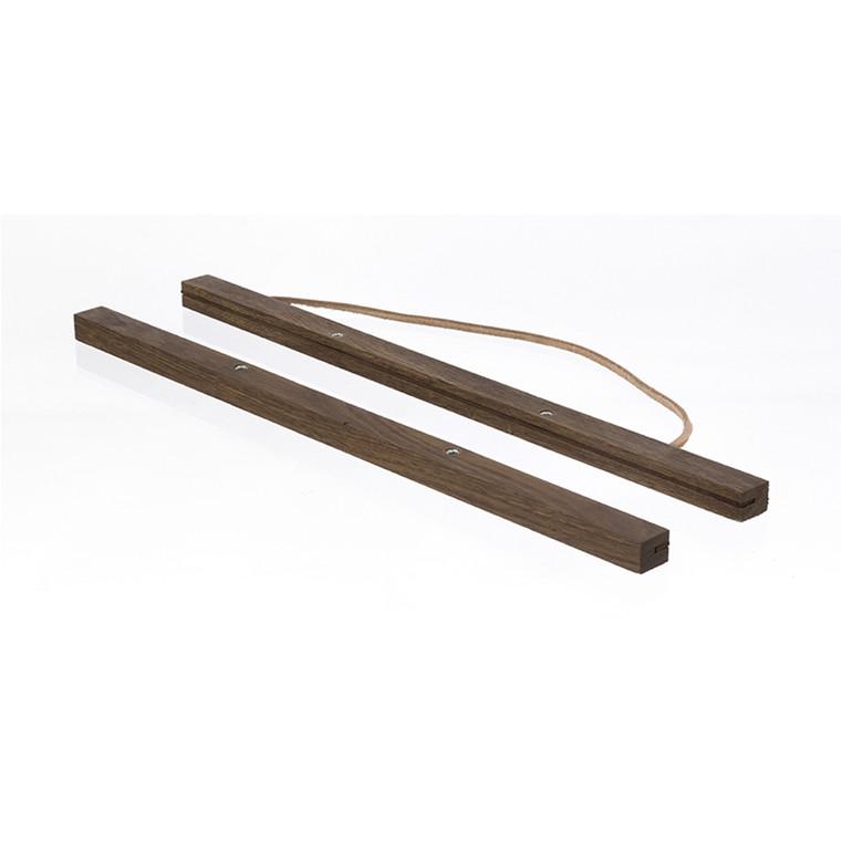 Ferm Living Wooden Frames Røget Eg Stor