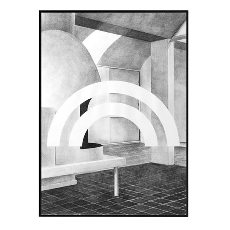 By Lassen Silhouette print, 50x70cm