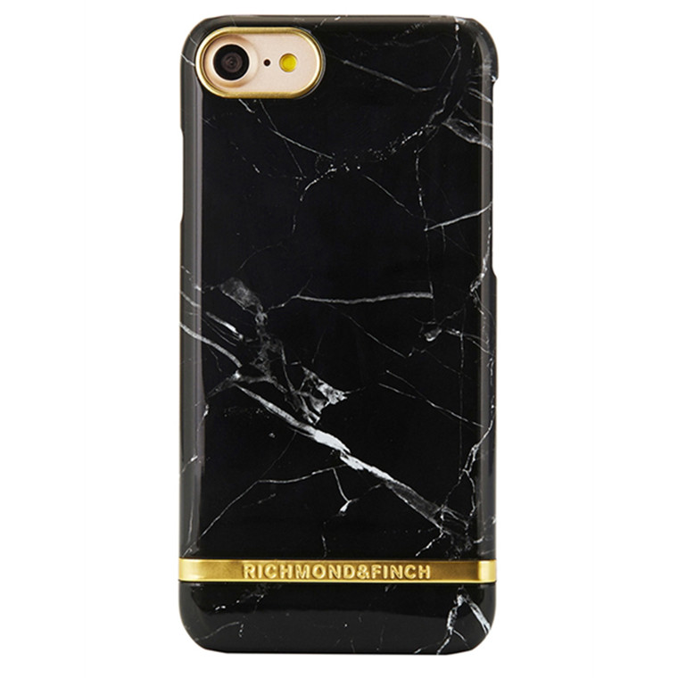 Richmond & Finch Iphone Cover Black Marble 7