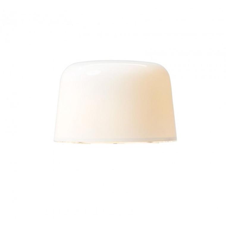 & Tradition Milk glasskærm hvid