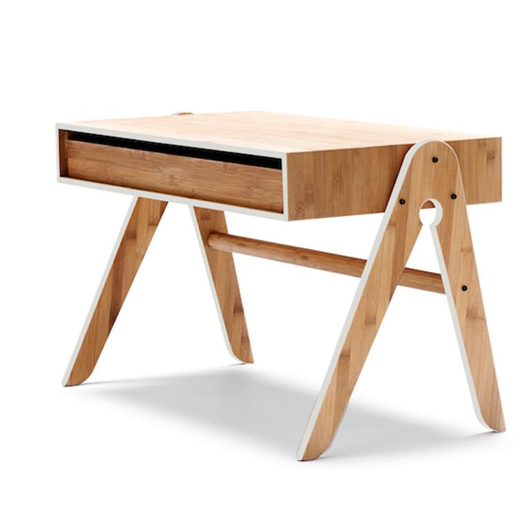 We Do Wood Geo's bord Grå