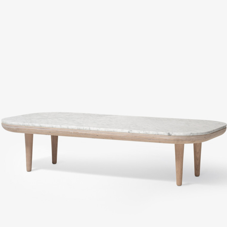 &tradition Fly Table SC5 Sofabord Bianco Carrara Marmor