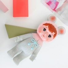 Woodland Doll Grå med øre