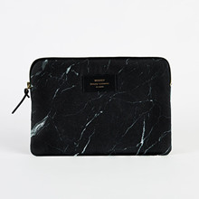 Woouf Ipad Sleeve Sort Marmor