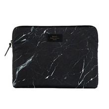 Woouf Macbook Pro Sleeve Sort Marmor