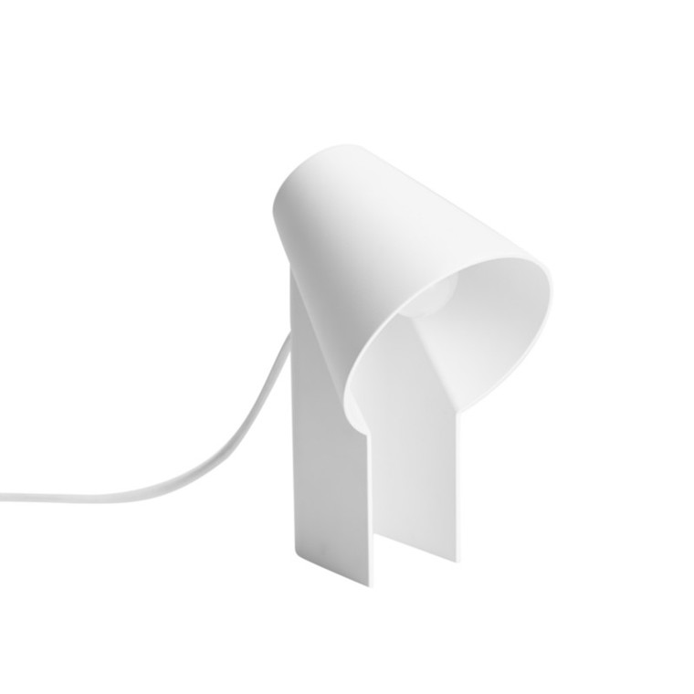 WOUD Study Bordlampe Hvid