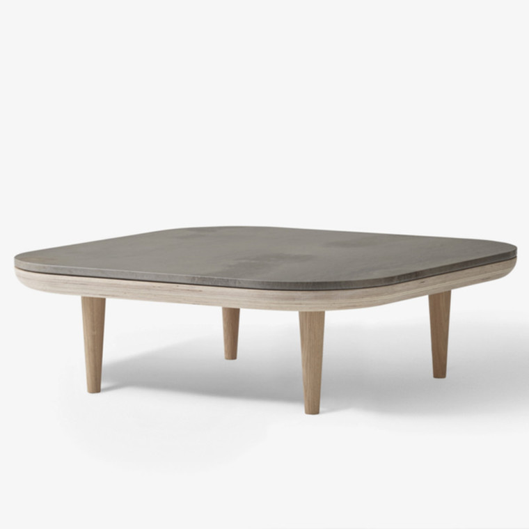 &tradition Fly Table SC4 Sofabord Hvid/Røget Pietra De Fossena