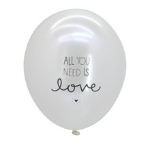 A Little Lovely Company Ballon All You Need Is Love