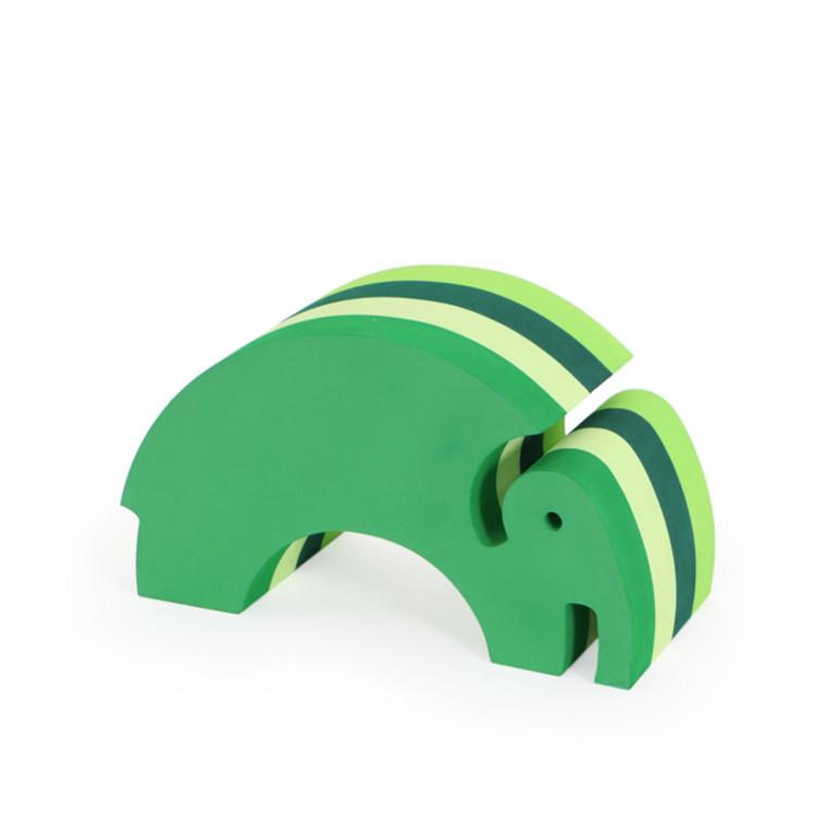 Bobles Elefant Mellem Multi Grøn