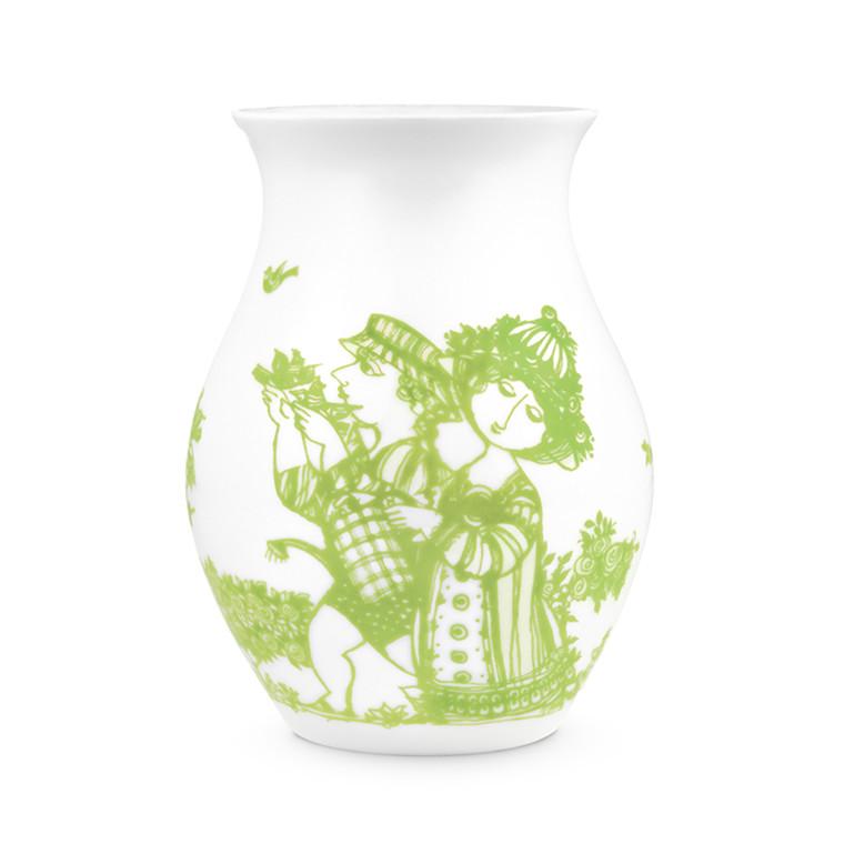 Bjørn Wiinblad Vase Rose Garden Grøn