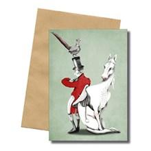 Bob Noon Hubertus Postkort