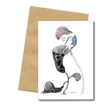 Bob Noon Flower Postkort