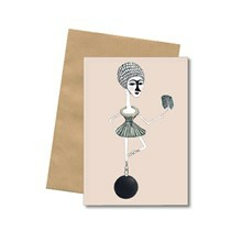 Bob Noon Black Ball Postkort
