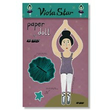 Bob Noon Paper Doll Viola Star