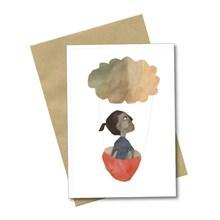 Bob Noon Postkort Flying