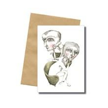 Bob Noon Sofa Postkort