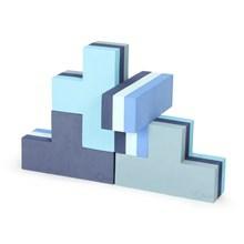 Bobles Byggeblokke Multi Blå Lille