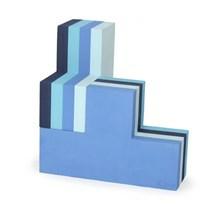 Bobles Byggeblokke Multi Blå Stor