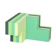 Bobles Byggeblokke Multi Grøn Stor