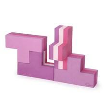 Bobles Byggeblokke Multi Pink Lille