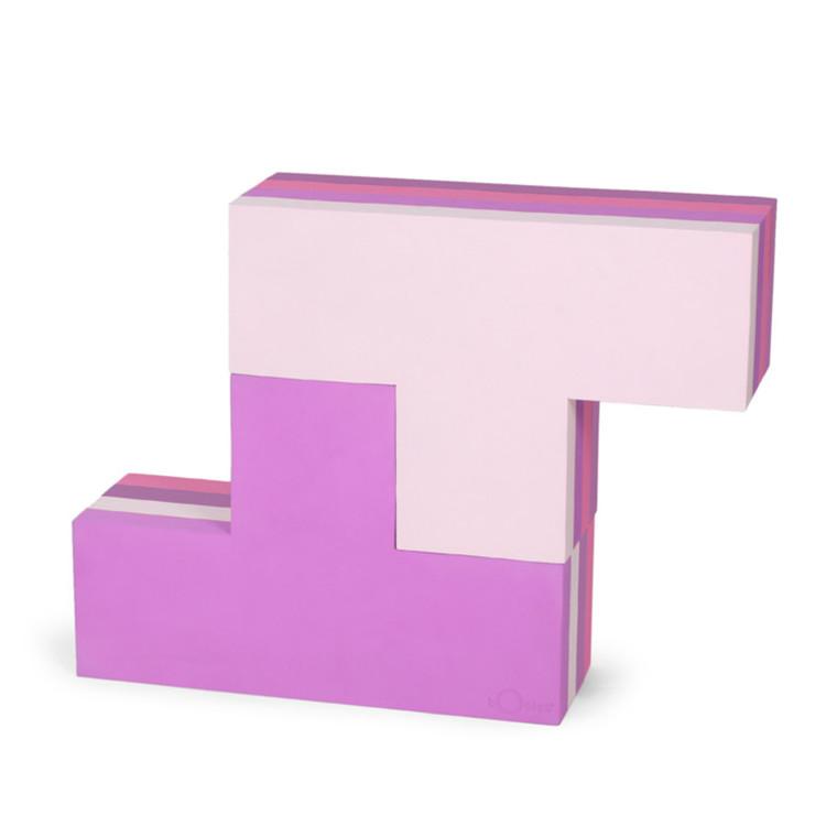 Bobles Byggeblokke Multi Pink Stor