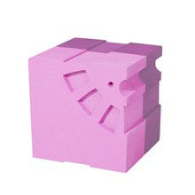 Bobles Løve Multi Pink