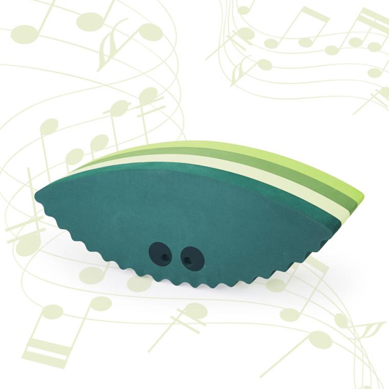Bobles Musling Med Lyd Multi Grøn