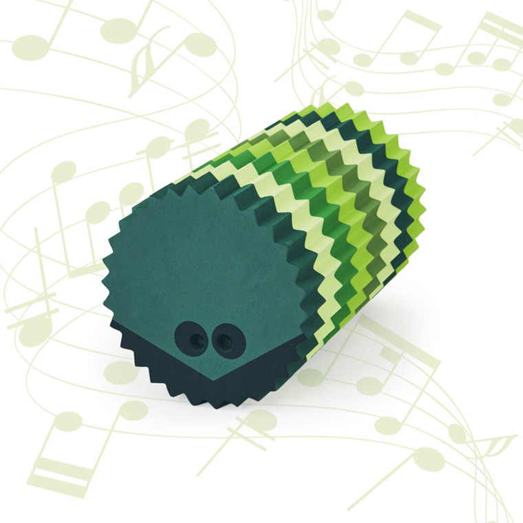 Bobles Pindsvin Med Lyd Multi Grøn