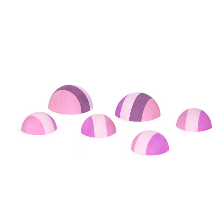 Bobles Tumlesten Multi Pink