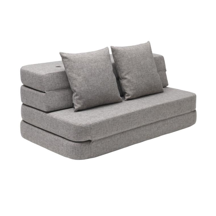By KlipKlap KK 3 Fold Sofa Multigrå