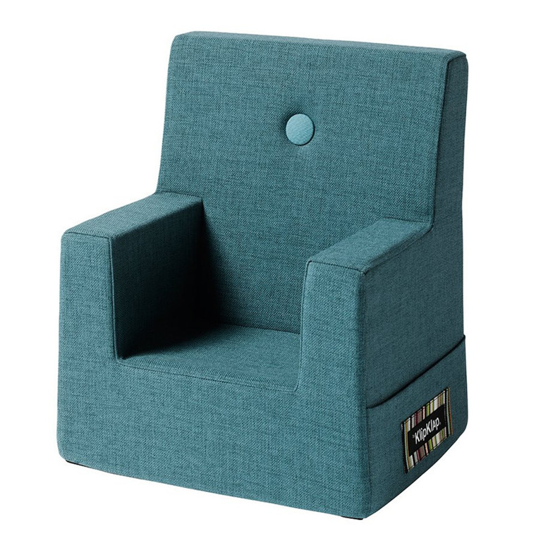 By Klip Klap KK Kids Chair Dusty Blue