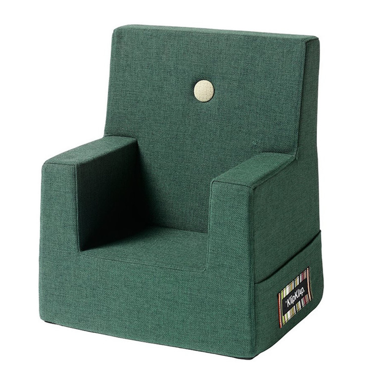 By KlipKlap KK Kids Chair Deep Green