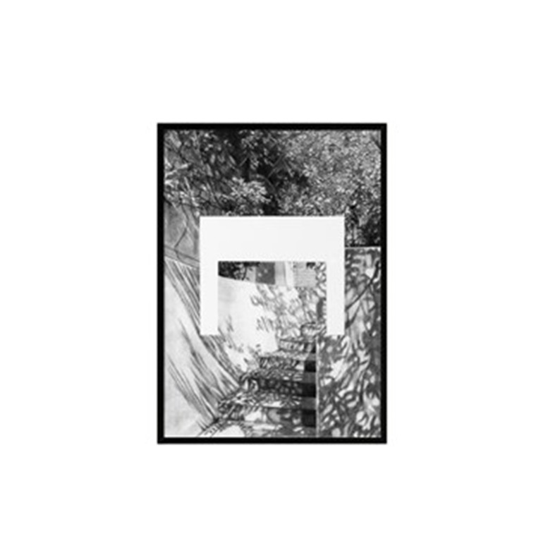 By Lassen Plakat Silhouette print, A4