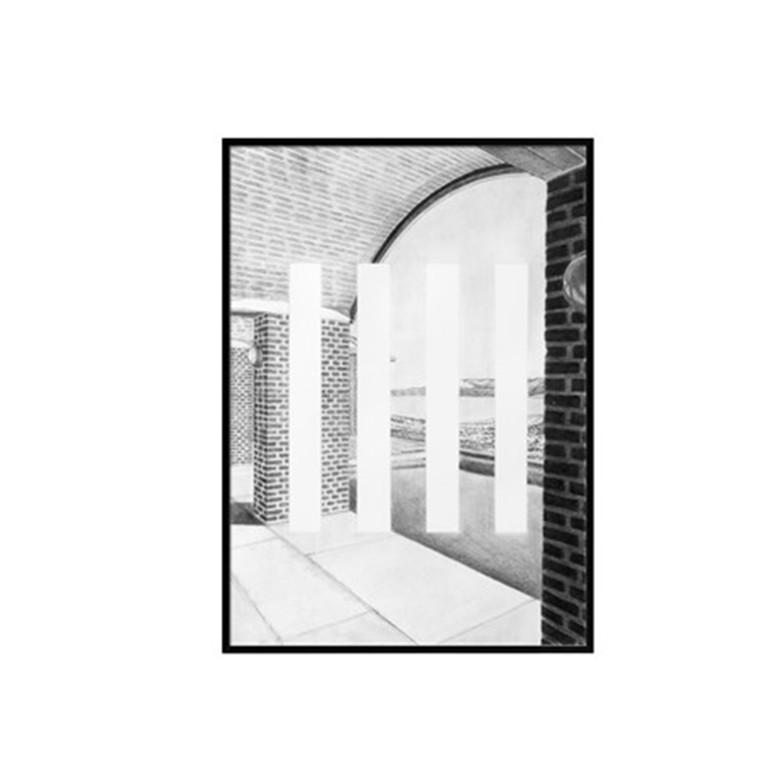 By Lassen Plakat Silhouette print, A3