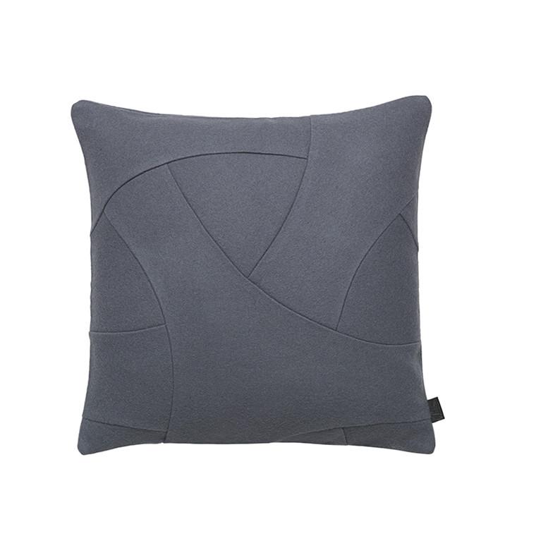 By Lassen Pude, Flow Hero grå, 50x50 cm